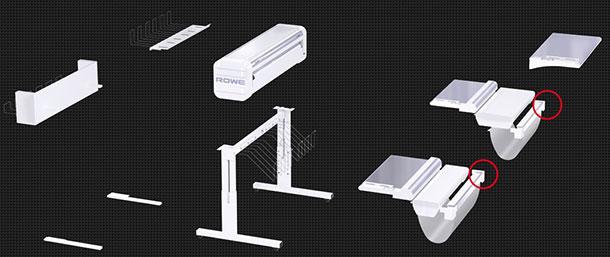 Rowe_varioFold Modulare Bauweise