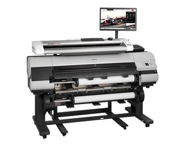 Rowe 850i MFP - Grossformatdrucker inkl. Scanner