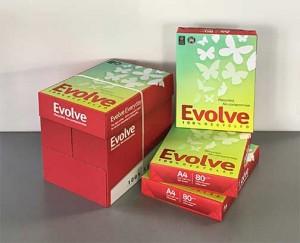 Evolve – das Umweltfreundliche Papier