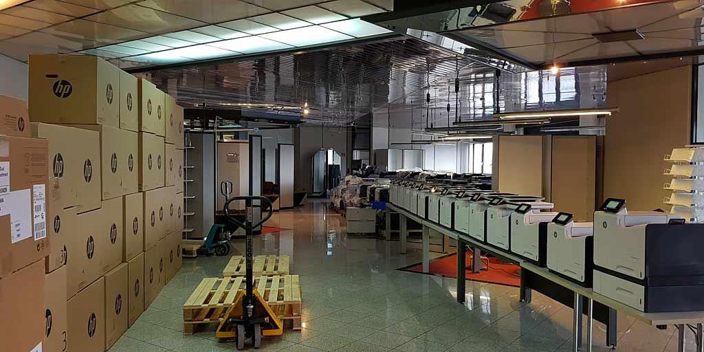 Mehr als 30 Neugeräte von HP stehen bereit zur Auslieferung - Soremba - IT