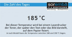 185 Grad Celsius