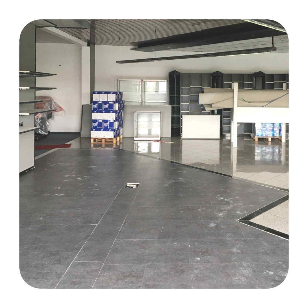 neue Räume – neuer Boden