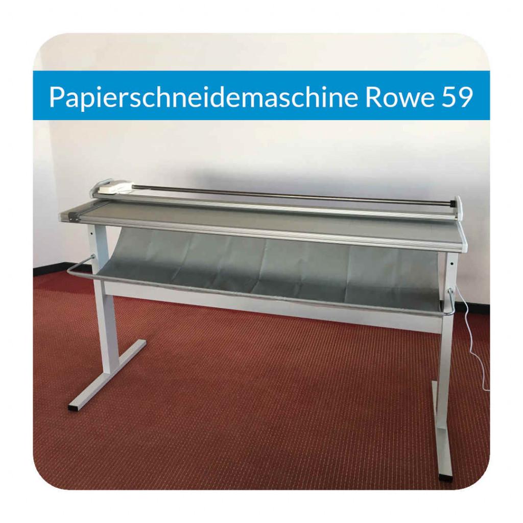 Papierschneidemaschine Rowe 59
