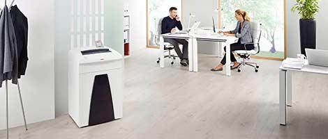 Ein Aktenvernichter im Büro - Soremba IT & Bürotechnik