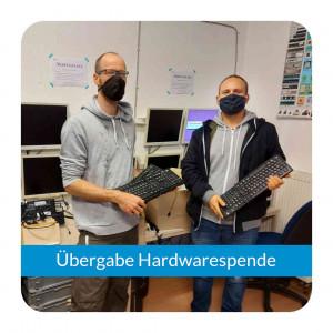 Hardwarespende an angestöpselt e.V. in Würzburg