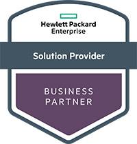 Logo - Hewlett Packard Enterprise - Solution Provider