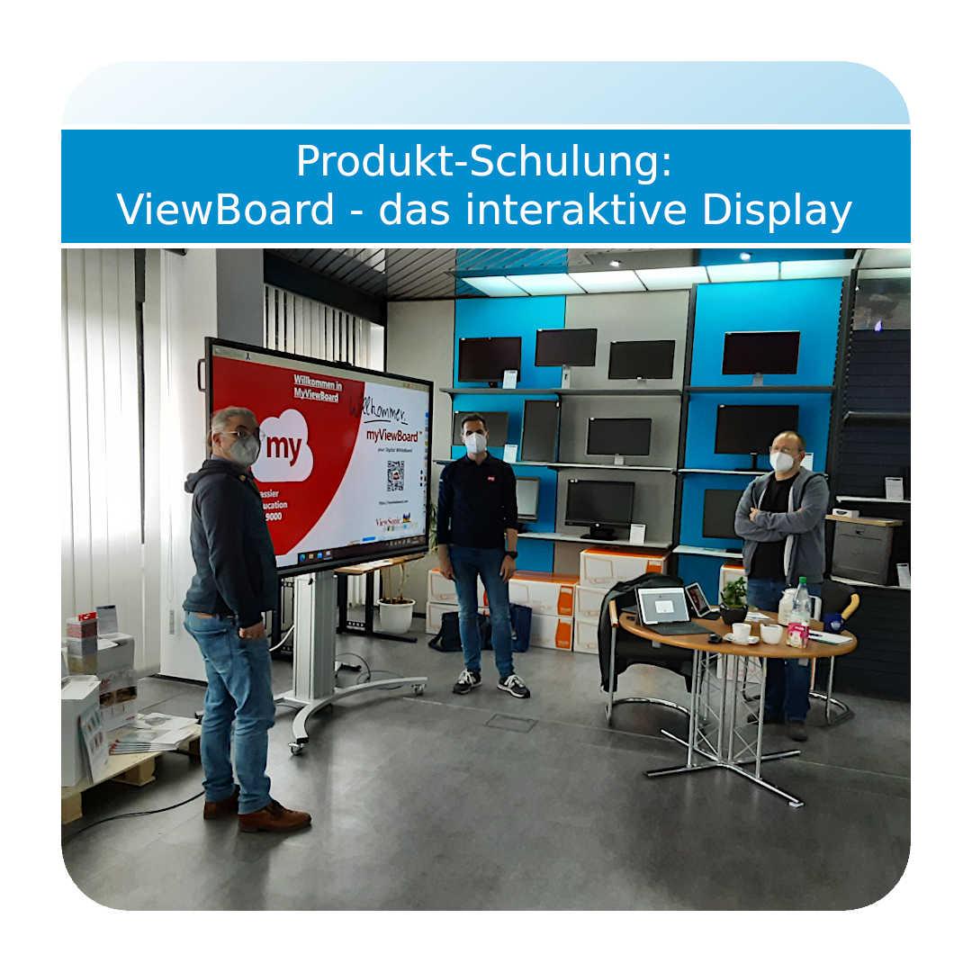 ViewBoard Produkt-Schulung