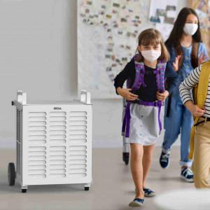 IDEAL Luftreiniger in der Schule