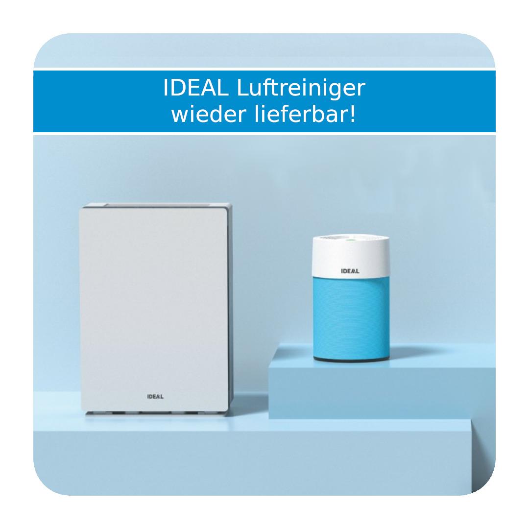 IDEAL Luftreiniger wieder lieferbar
