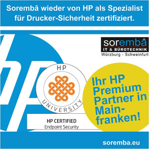 Soremba wieder zertifiziert als Experte für Drucker-Sicherheit