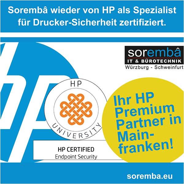 Read more about the article Soremba wieder zertifiziert als Experte für Drucker-Sicherheit