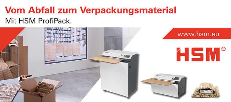 """Banner """"Vom Abfall zum Verpackungsmaterial"""""""