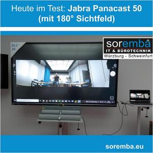 Videokonferenz mit 180 Grad Sichtfeld