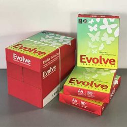 Evolve - das Umweltfreundliche Papier bei Soremba - IT & Bürotechnik