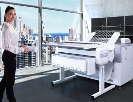 Faltmaschine ROWE VarioFold Compact online - Bild: ROTH + WEBER GmbH